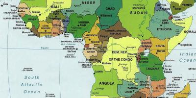 Cartina Africa In Italiano.Zambia Mappa Mappe Zambia Africa Orientale Africa